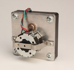 Reversible Stepper Motor Square Mounting Gearbox