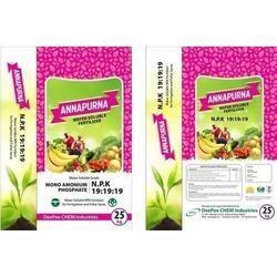 NPK : 19-19-19 Water Soluble Fertilizer