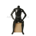 Adams Fiberglass Sitting Male Mannequin Smm01
