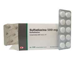 Sulfadiazine 500 mg Tablets USP
