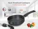 Deep Fry Pan with Stainless Steel Lid