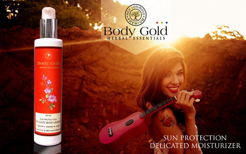 Luxurious Herbal Sun Protection Delicate Moisturizer