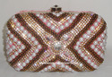 Fancy Beaded Clutch Purse
