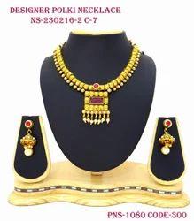 Square Pendant Necklace Set