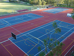 Outdoor Basketball Court Surfaces