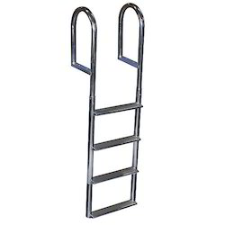 Aluminum Wide Step Hook Ladder