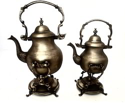 Smokey Finished Antique Samovar Kettle