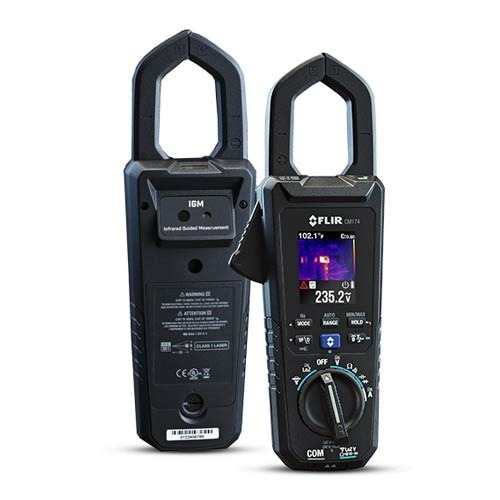 Imaging 600A AC/DC Clamp Meter
