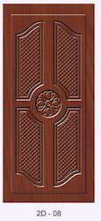 2D Designer Wooden Door