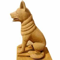 Dog Stone Figures