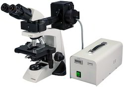 Microscope With Fluorescent Attachment