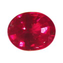 Blood Red Ruby Stone
