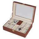 Watch And Jewelry Case - 82 - Brown