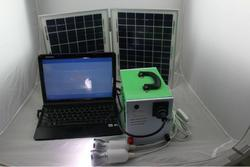 AC Solar Home Portable System