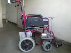 Rechargeable Battery Operated Wheelchair