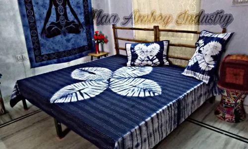 Tye Dye Handmade Kantha Blanket Quilts