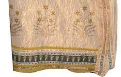 Bagru Print Maheshwari Saree
