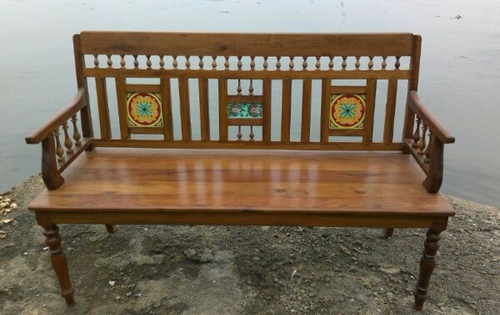Antique Bench - Antique Bench & Bed Manufacturer From Pondicherry