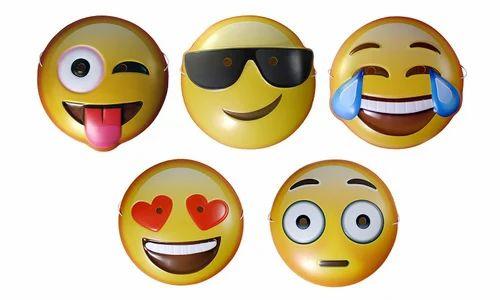 emoji masks pack of 5 masks cool guy eye masks wholesaler from