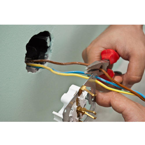 Electric Wire Fitting Service - Electrical Wiring House Wiring Real ...