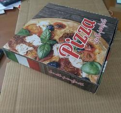 Pizza Box 6 Inches With Virgin Paper Inside