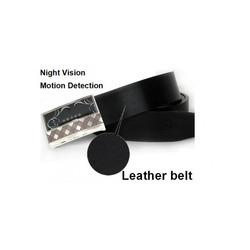 SPY Leather Belt Camera Night Vision