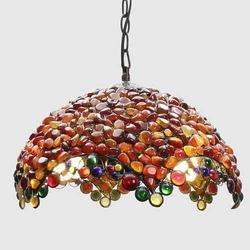 Tiffany Gemstone Empress Pendant Lamp