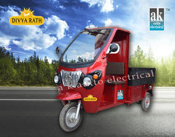 Red Divyarath Battery Operated Loader