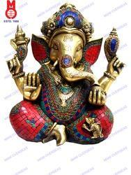 Lord Ganesh Carved Statue