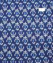 Cotton Voile Hand Block Print Fabric Natural Dyes NP1