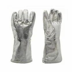 Aluminized Fireman Gloves