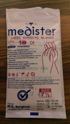 Medister Latex Surgical Gloves