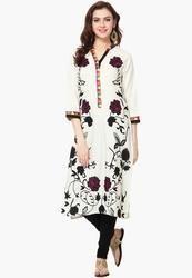 Best Cotton Long Length 45 46 48 Inch Kurtis