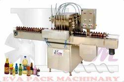 Automatic Six Head Liquid Filling Machine
