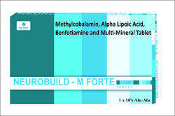 methylcobalamin ala benfotiamine and multi mineral tablet
