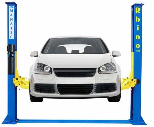 Two Post Lift (Electro Hydraulic - Rhino 4HC Floor plate)