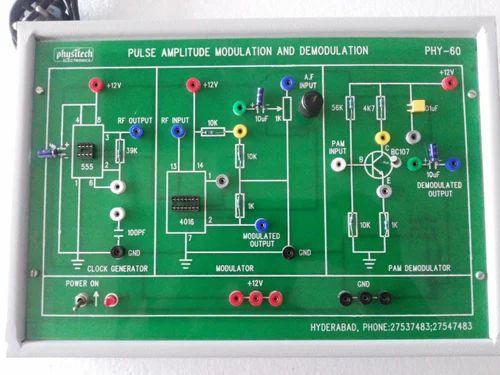 Digital Communication Trainer Pulse Amplitude Modulation