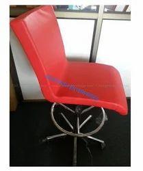 Chrome Base with Cushion Chair