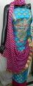 Blue Zari Gota Patti Suit