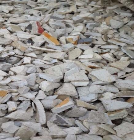 PVC White Pipe Grinding Granule