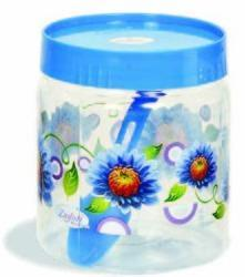 Plastic Printed Pet Jar