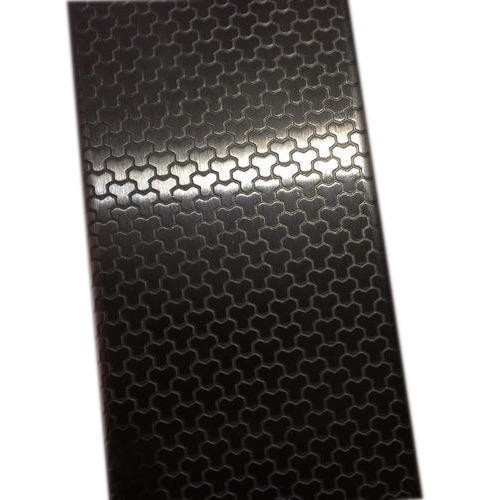 Ss Embossed Stainless Steel Sheet Ss Honeycom Finish