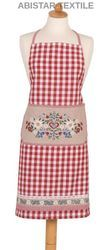 Gingham Checked Apron