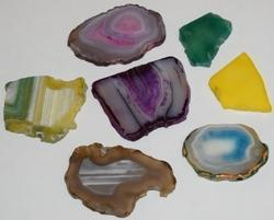 Fancy Agate Loose Pendants Of Mix Stone
