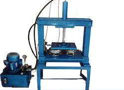 Semi Automatic Paper Plate Cutting Machine