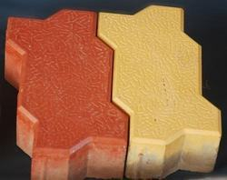 Rubber Moulded Pavers
