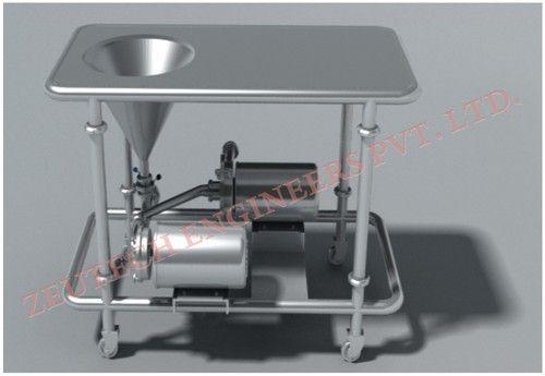 Powder Blender Milk Pasteurizer