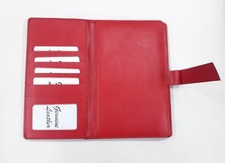 Red PU Leather Diary Cover