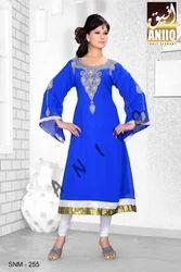 Short Designer Beads Kaftan