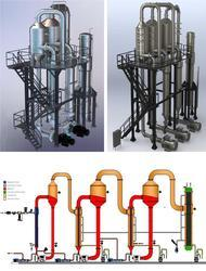 Concentration And Vacuum Evaporator